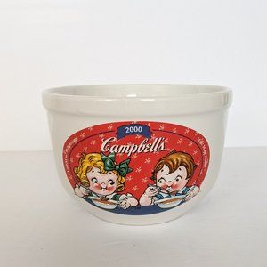Vintage Y2K New Millennium Campbell's Soup Bowl